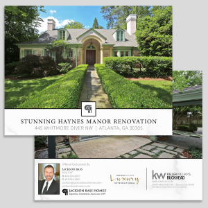 luxury real estate listing brochure